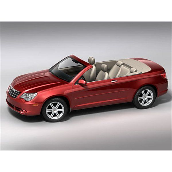 Chrysler Sebring Convertible 2008 3d Model With Images