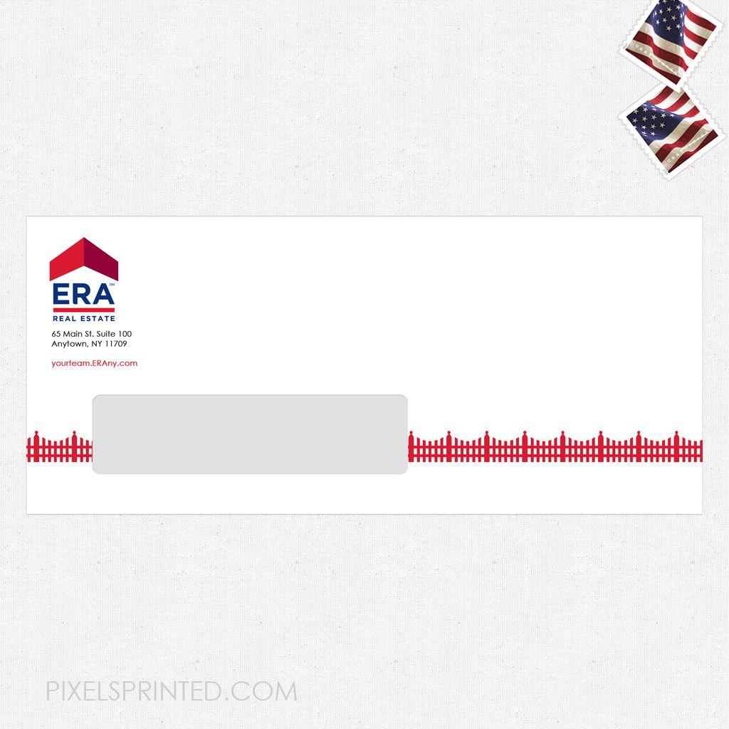 real estate envelopes, realtor envelopes, realtor window envelopes, envelopes, ERA real estate envelopes