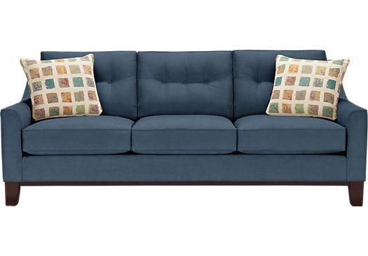 Marvelous Cindy Crawford Home Montclair Indigo Sleeper Startup Sc Ncnpc Chair Design For Home Ncnpcorg