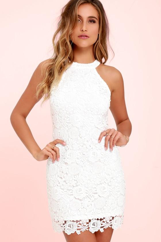 Love Poem Ivory Lace Mini Dress Short Lace Dress Ivory Lace Dress Lace White Dress