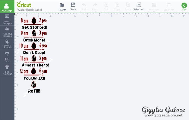 44++ Diy water bottle labels cricut trends