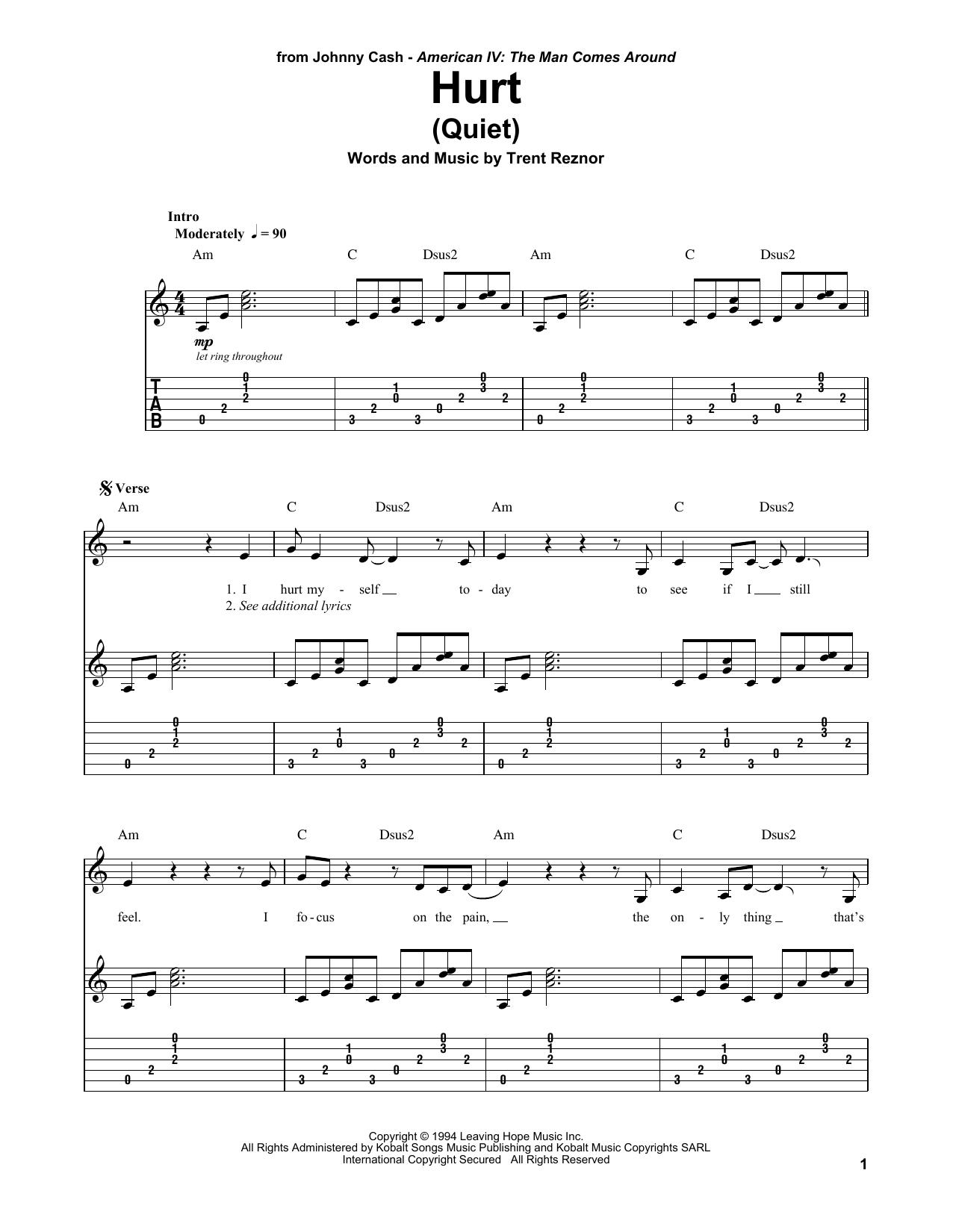 Image Result For Johnny Cash Hurt Chords Strum Pattern Guitar