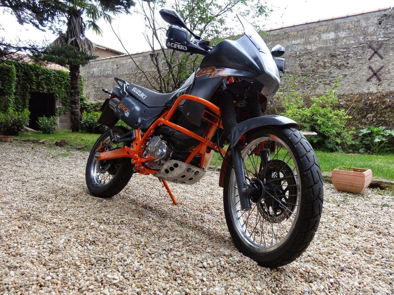 Suzuki dr 650 rse sp43 restauration moto monocylindre dr 650 rs trail