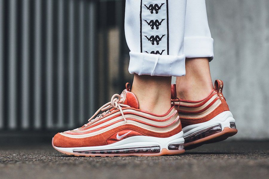 7a43d0dd7fe8 Nike WMNS Air Max 97 Ultra 17 LX Dusty Peach