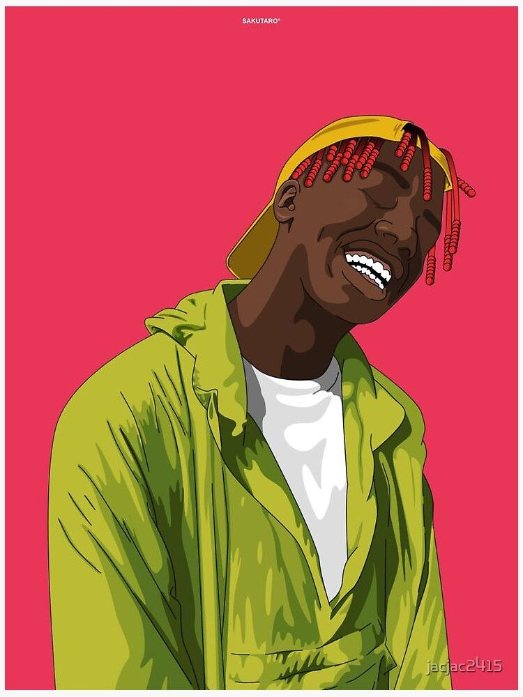 Lil Yatchy Sticker By Jacjac2415 In 2021 Rapper Art Lil Yachty Hip Hop Art