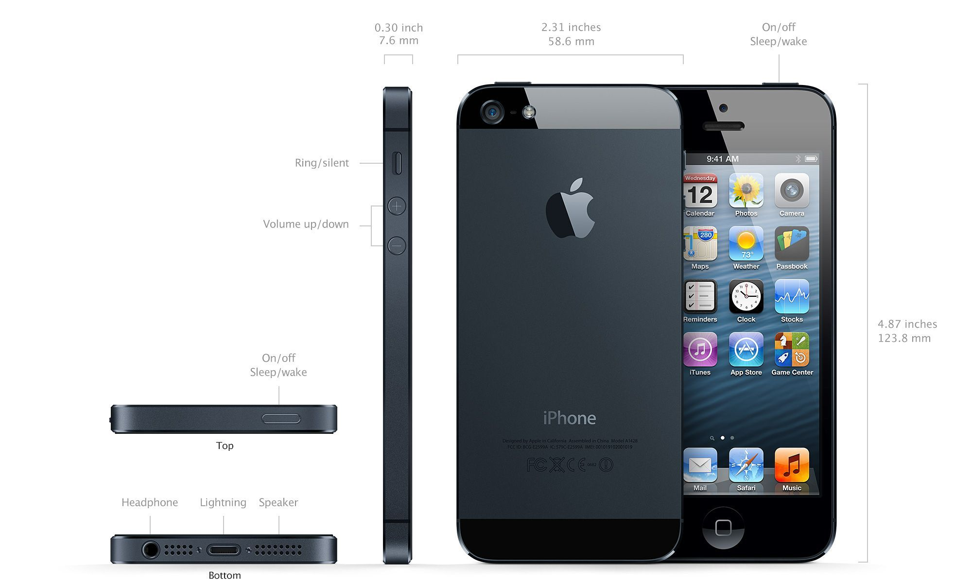 iPhone 5. Well...