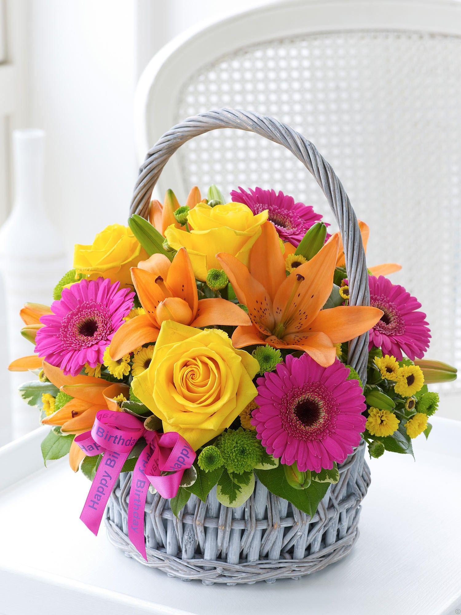 Birthday Flower Bouquets Happy birthday flower, Birthday