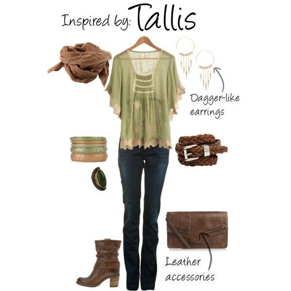 """Tallis (Dragon Age 2)"" by ladysnip3r on Polyvore"