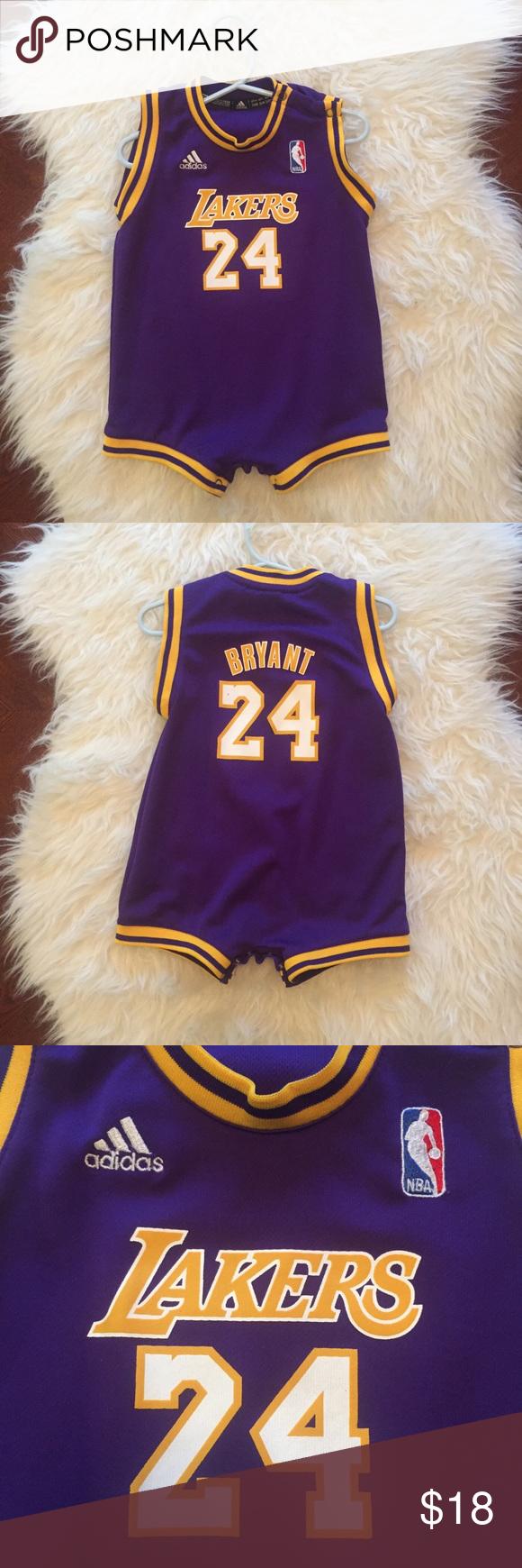 Baby Lakers Kobe Bryant Jersey One Piece | Kobe bryant baby, Kobe ...