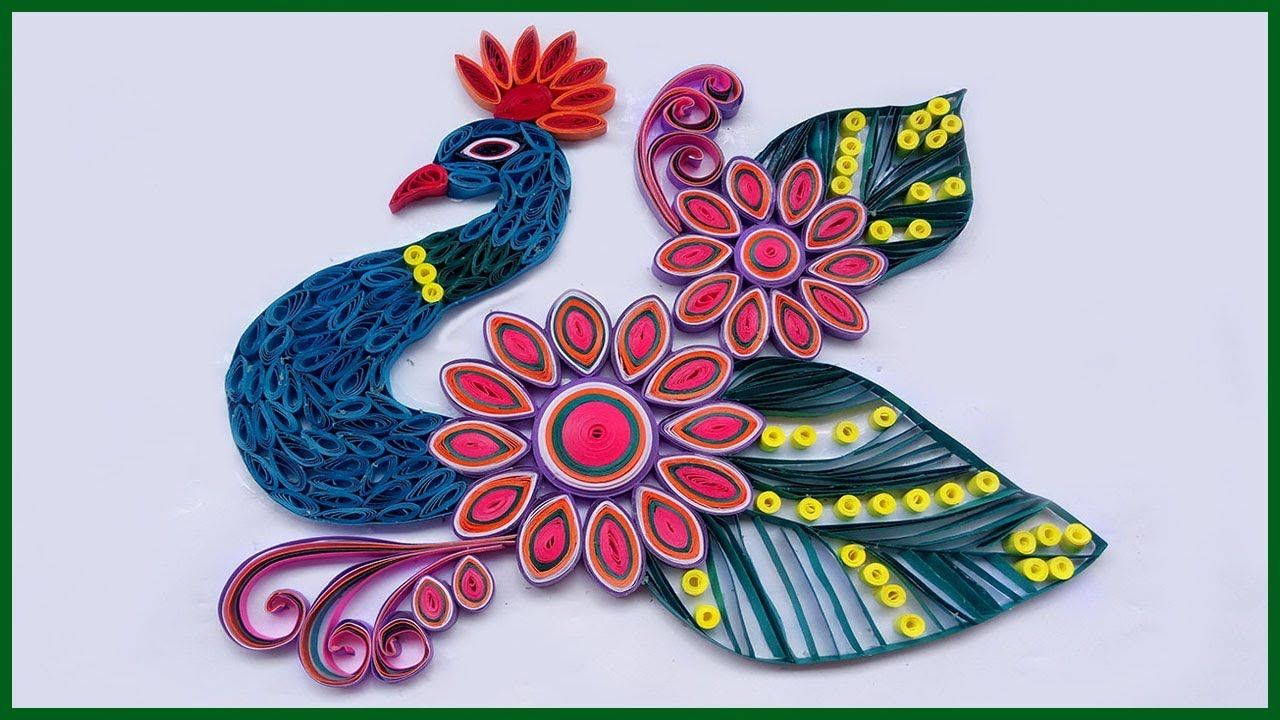 How to Make Diwali Special Peacock Rangoli Design Step by