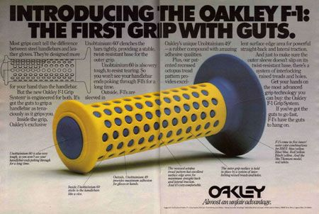 BMX | Oakley Grips  I used to have these on my BMX. They were awesome. Need some for my Honda CL.