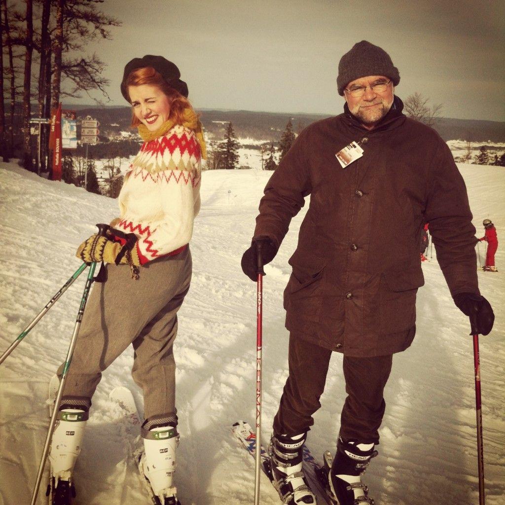 Nordiska Museet | Miriams Kafferep, vintage style skiing