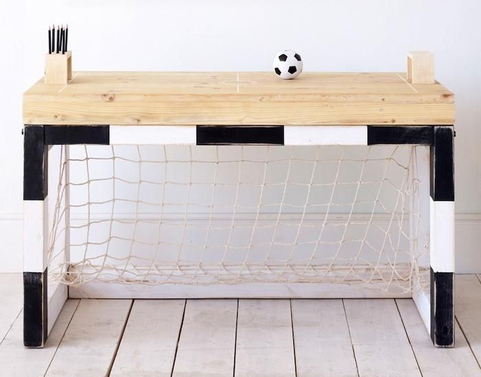 Three Brothers In Spain Reinvent The Nursery Remodelista Soccer Bedroom Decor Sports Themed Room Soccer Themed Bedroom