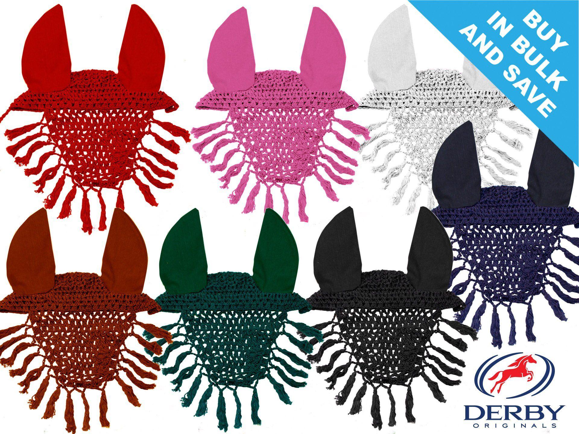 Crochet Horse Fly Bonnet Pattern Crochet Horse Fly Veil | horse ...