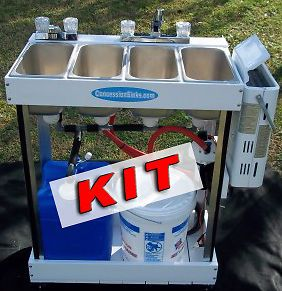 concession sink kit with parts 3