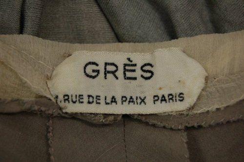 vintage garment Label