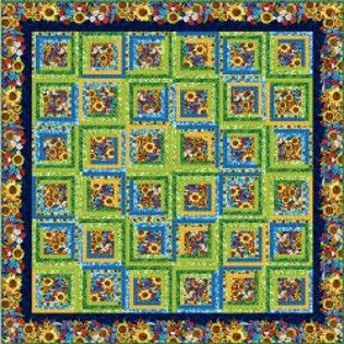 25 Free Log Cabin Quilt Patterns (Christmas tree skirt included)