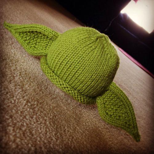 Ravelry: whiteheadmom's Yoda Beanie   Baby hat knitting ...