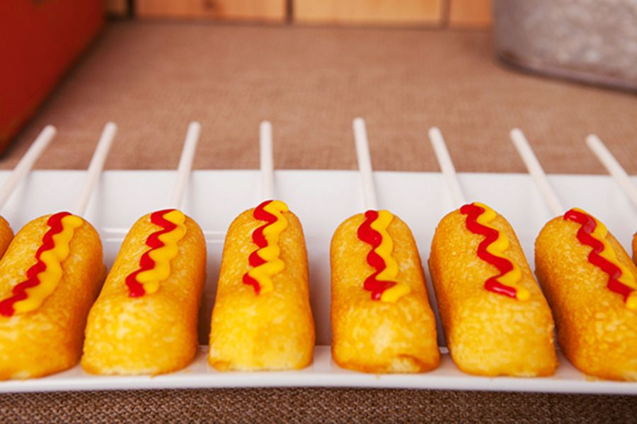 "Watch this instructional video on how to make ""corn dogs!"""