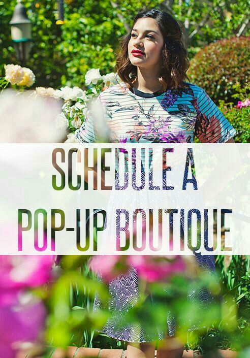 Contact me today to schedule your own Pop-Up Boutique!