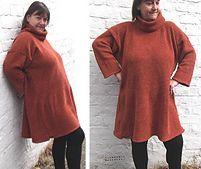 Ravelry: Machine knitting Pattern. Big, Baggy Tunic, 32 - 50 inch bust pattern by Bea Roberts
