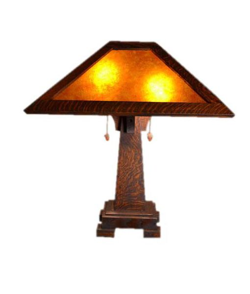 Mission Craftsman Art And Crafts Table Lamps Craftsman Table Lamps Lamp Table Lamp