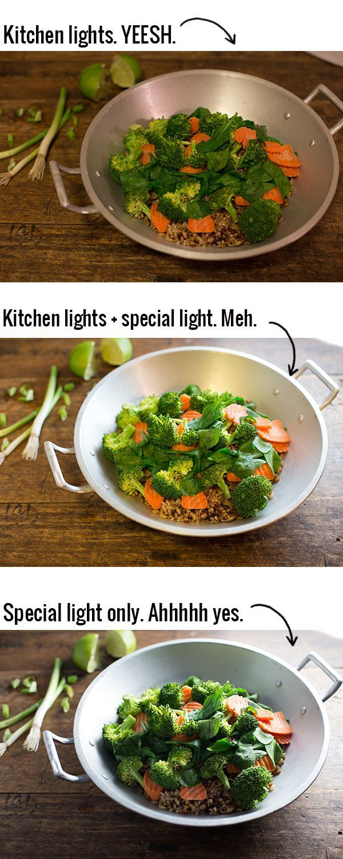 Artificial Lighting Tips for Food Photography - Pinch of Yum @Krystal Thanirananon Thanirananon Bennett of Yum