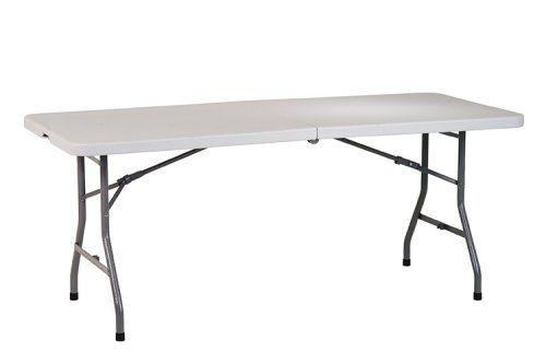Work Smart Resin Multi Purpose Center Multipurpose Table Folding Table Office Star