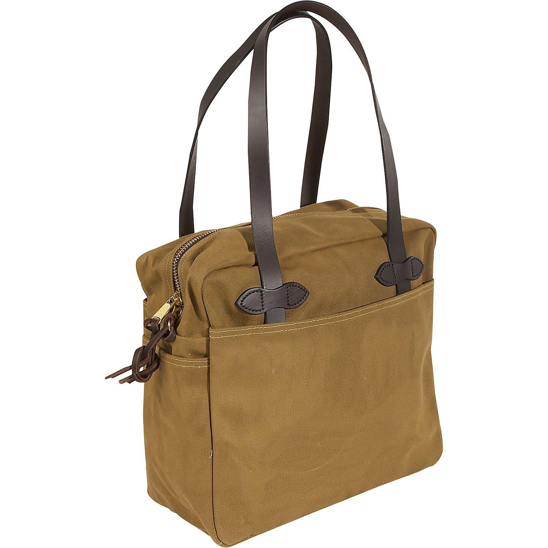 3cbf29a25123 Filson Large Tote Bag With Zipper - eBags.com