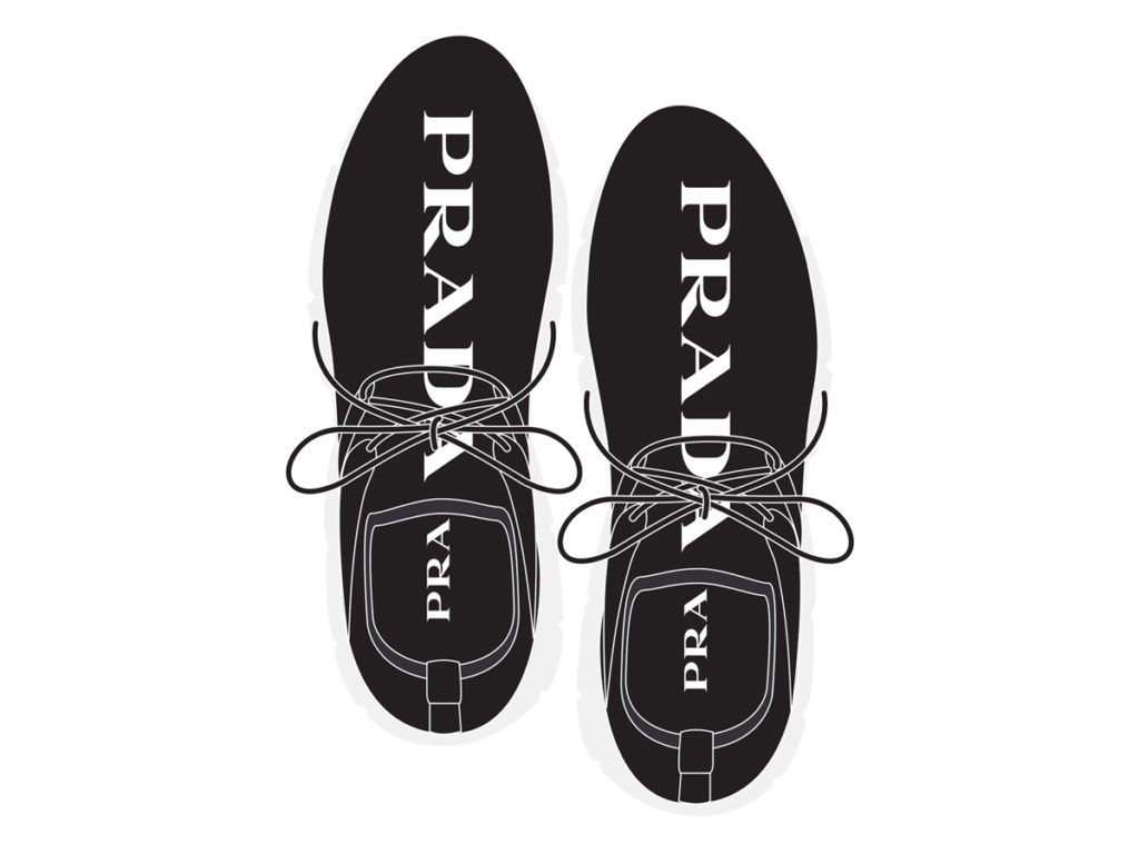 21e466f9ee69 Prada Knit Sneakers