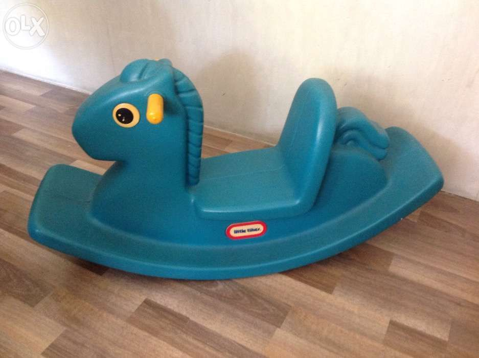 Magnificent Little Tikes Rocking Horse 2Nd Hand Actual Pic For Sale Beatyapartments Chair Design Images Beatyapartmentscom