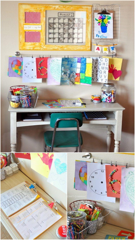 Parenting Hack Doable DIY Homework Stations to Set Up at