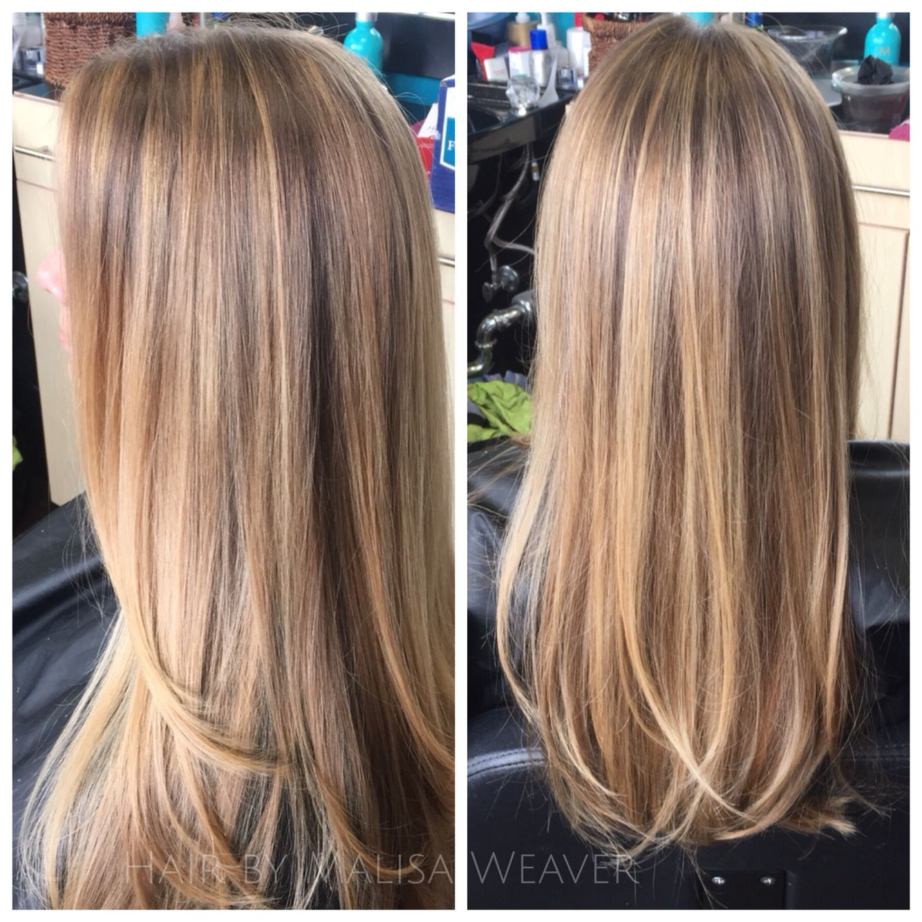 balayage highlights honey blonde natural longhair hair color bronde pinterest haar. Black Bedroom Furniture Sets. Home Design Ideas