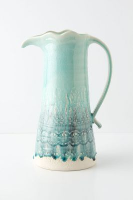 Point Duchesse Pitcher