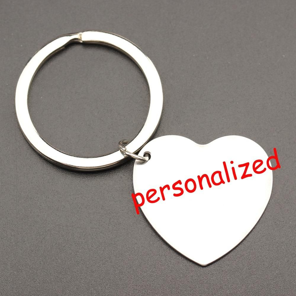 250pcs Personalized Keychain Engraved Keyring Key Tag Keys Holder Can Be Personalized Any Language Boyfriend Gifts Gifts For Mom Funny Mothers Day Gifts