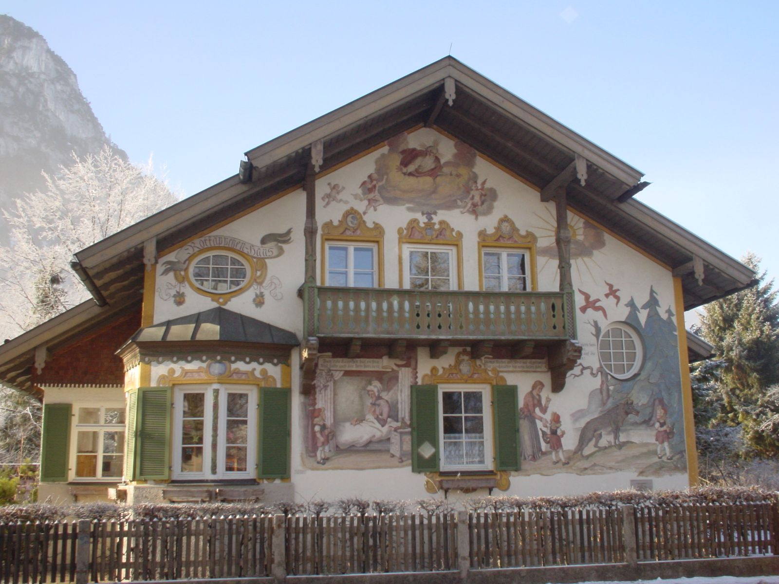 Bavarian Chalet House Plans