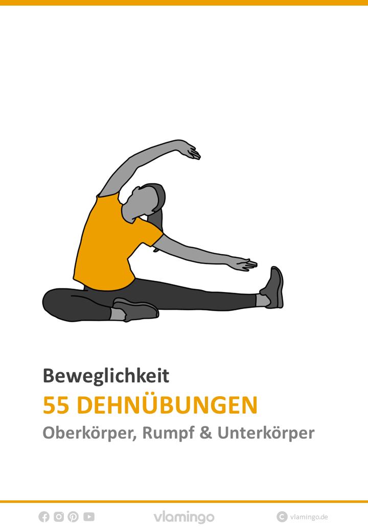 Photo of 55 Dehnübungen (Arme, Schulter, Nacken, Rücken, Brust & Beine)