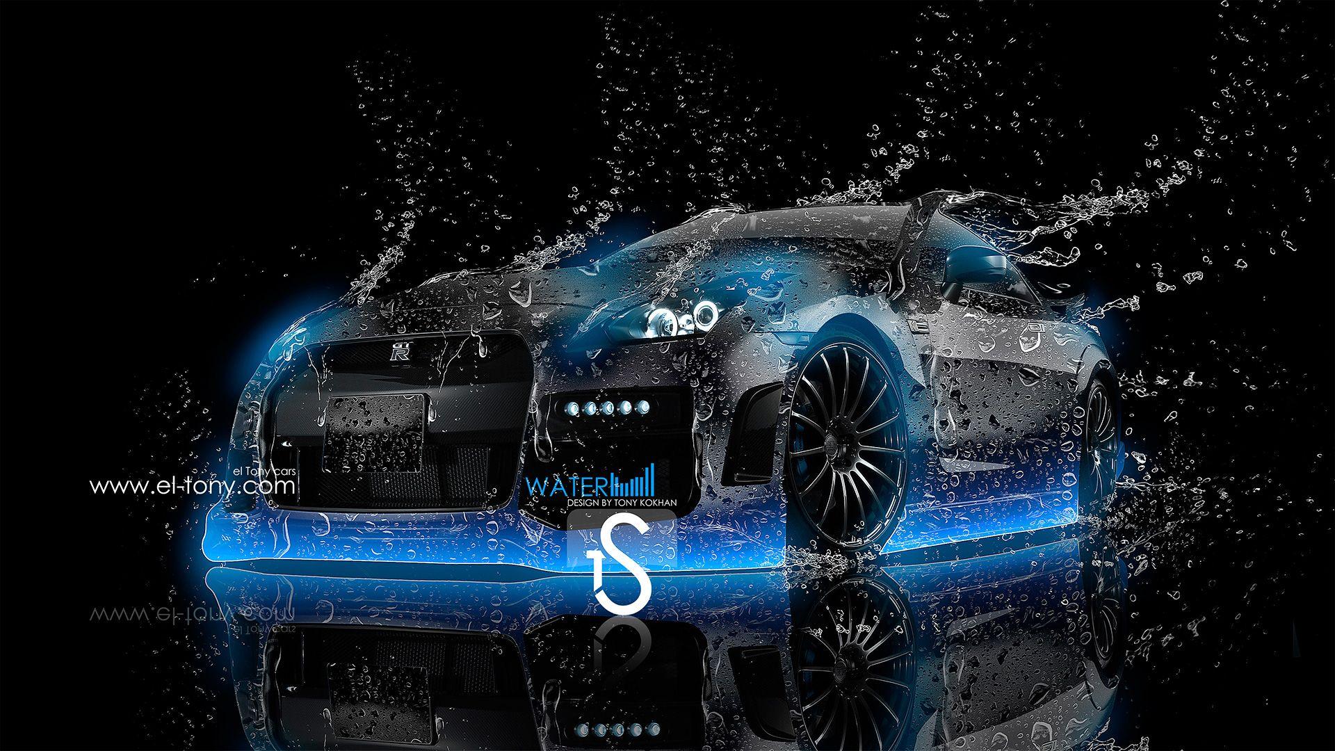 Beautiful Nissan GTR R35 Water Tuning 2013 « El Tony