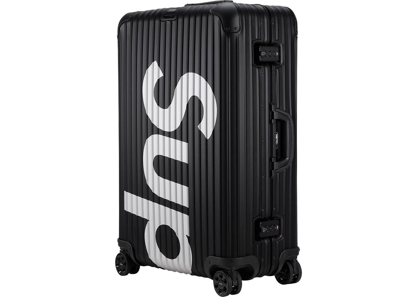 541042ca Supreme RIMOWA Topas Multiwheel 82L Black in 2019 | Home | Rimowa ...