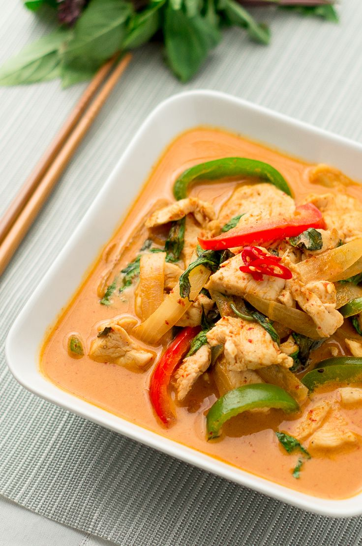 Thai Red Curry  Recipe  I Want To Put That In My Mouth -5465