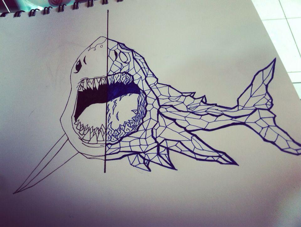Tiburon De Doble Personalidad Dibujos Rapidos Doble Personalidad Dibujos