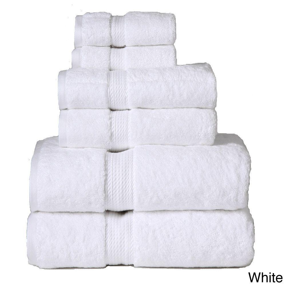 Superior Collection Luxurious 900 Gsm Egyptian Cotton 6 Piece
