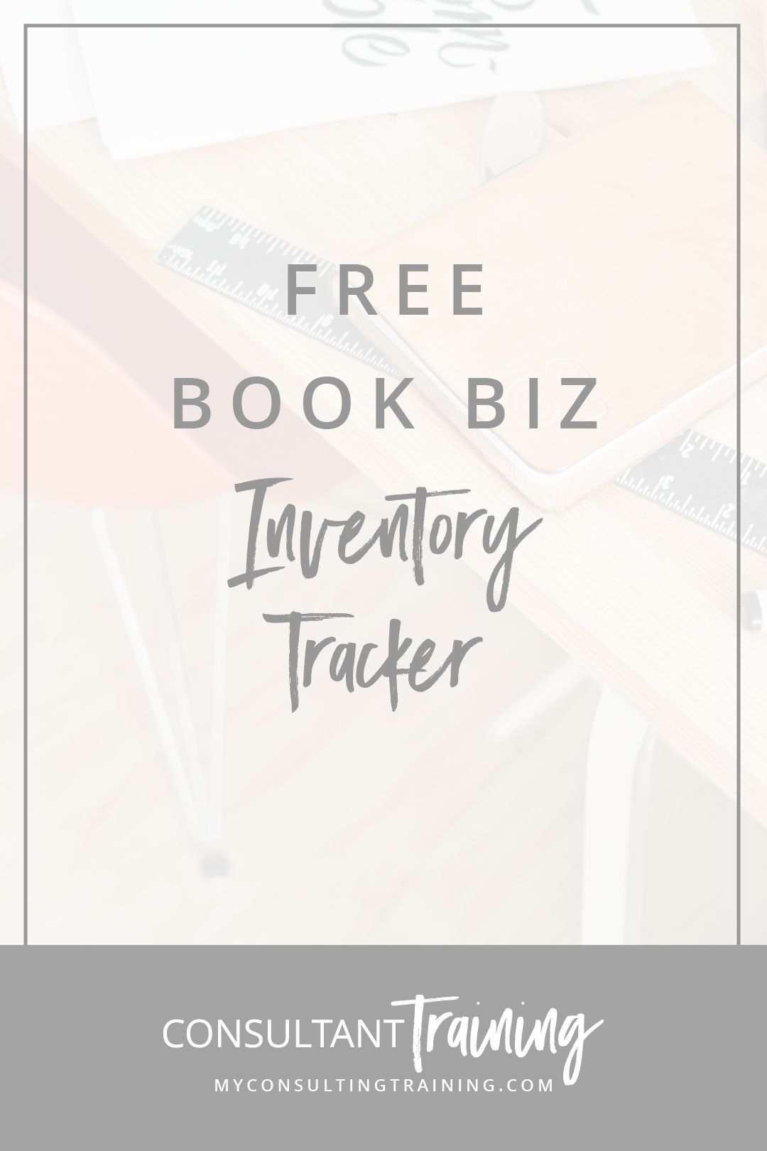 free inventory tracker my consultant training business business