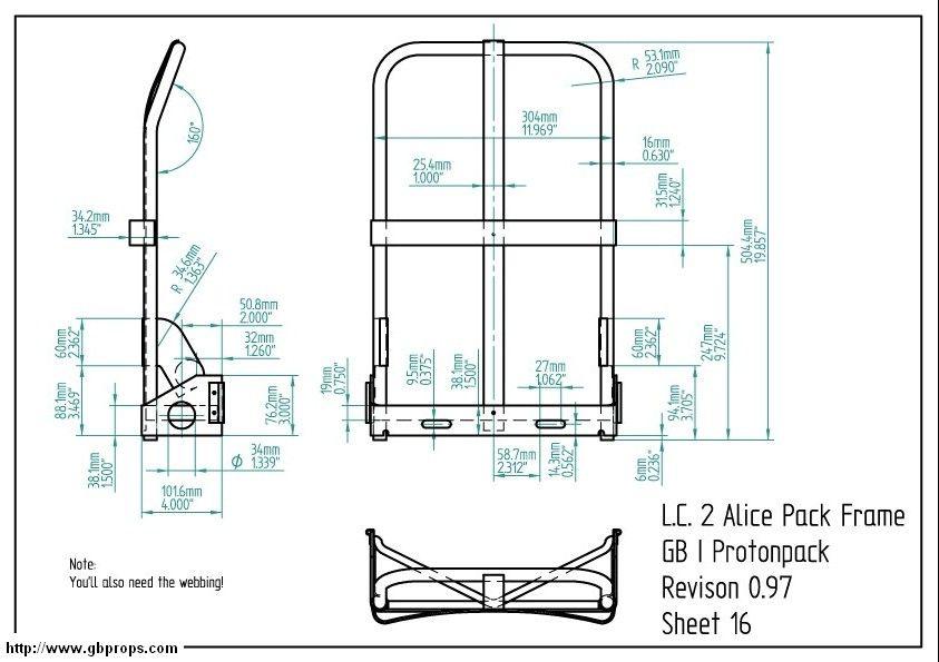 Alice pack frame dims | Packs/Scabbards/Sheaths | Pinterest | Alice ...