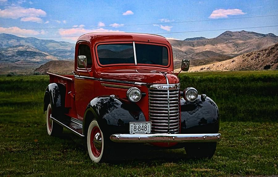 1940 Chevy Pickup For Chevrolet Truck Photograph