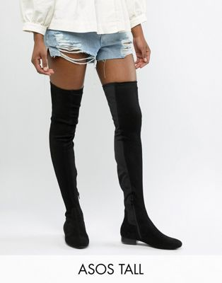 Design Flat Thigh Kelby Tall 2019 Elastic High Boots In 08wkOXnP