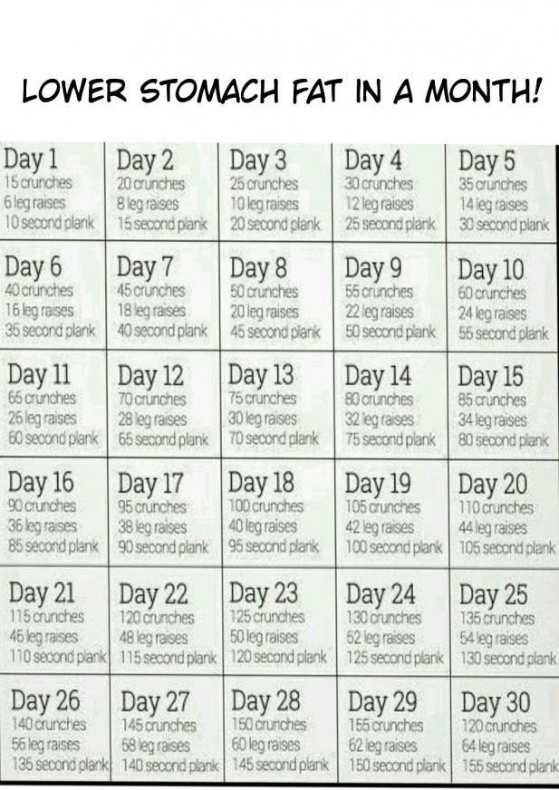 #fitness transformation 30 day #burnfat – Workout Plan - Water