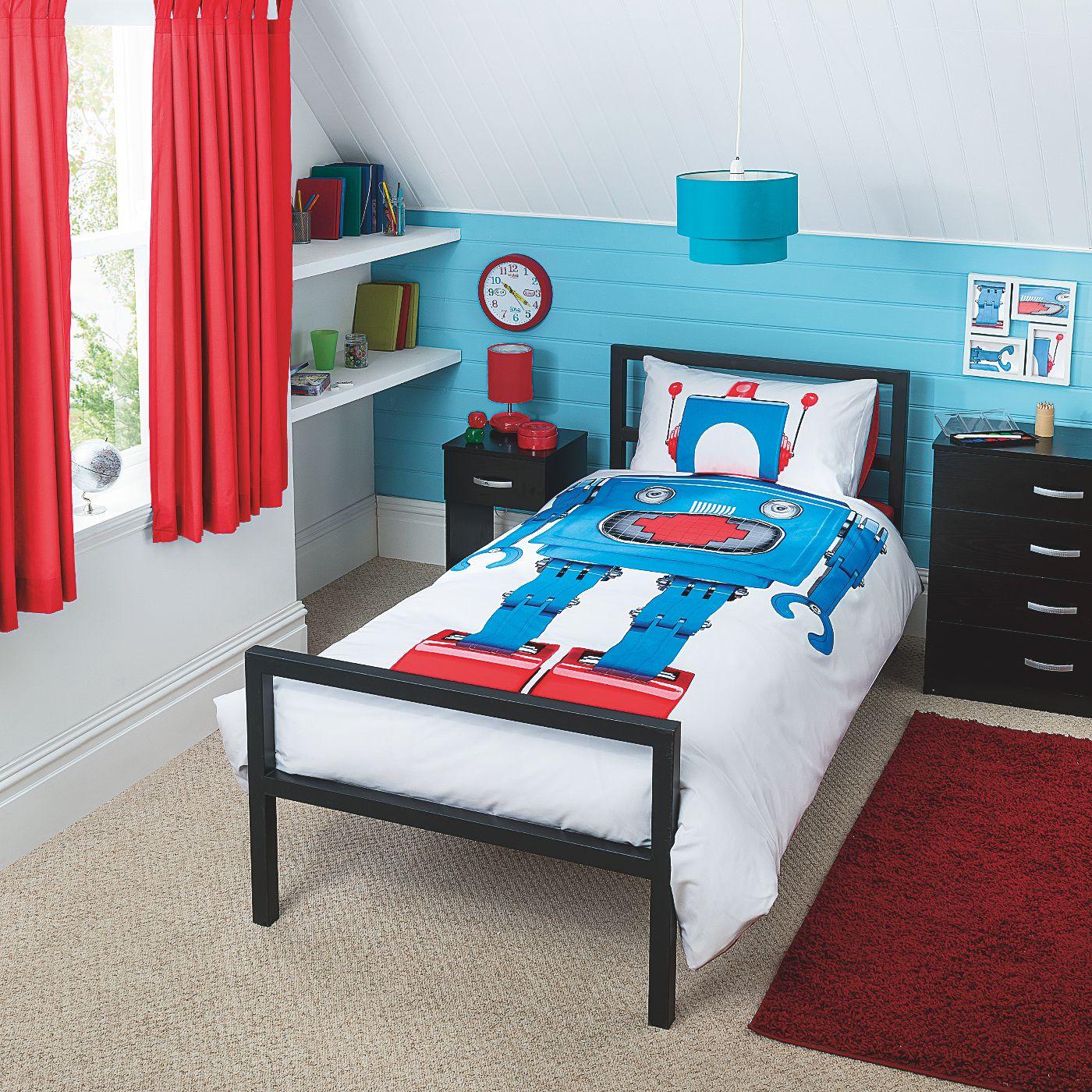 Home Robot Duvet Set Kids Bedding ASDA direct