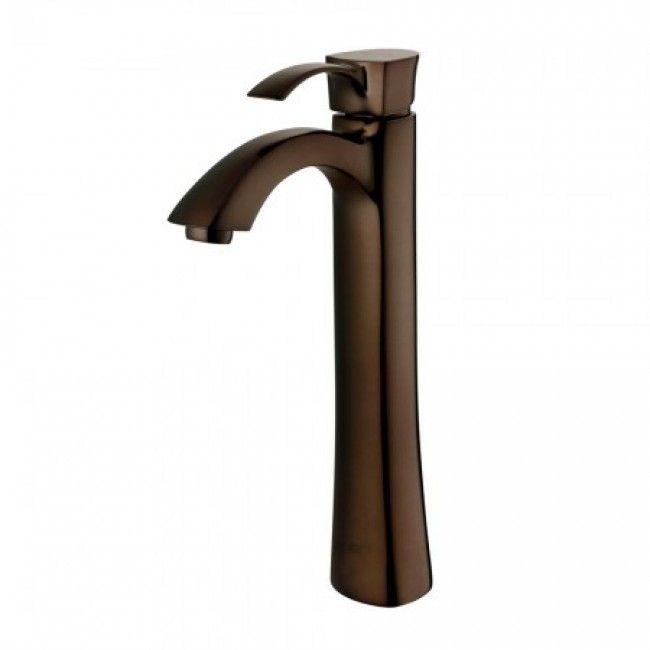 Vigo VG03023RB Otis Oil Rubbed Bronze Single Hole Lavatory Bathroom ...
