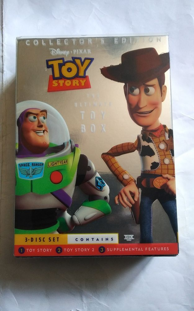 Toy Story The Ultimate Toy Box Collector S Edition Dvd Disney Pixar 3 Disc Set Toystory Toystory2 Disney Toys Disney Pixar Disney Lover